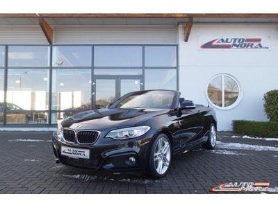 gebraucht BMW 220 d Cabrio Sport-Aut. M Sportpaket Leder Xenon
