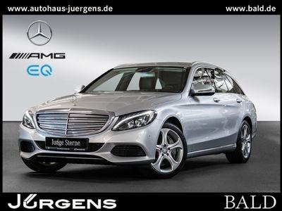 gebraucht Mercedes C350e T Exclusive/Navi/LED/Park-Assist/Airm/18