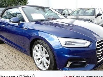 gebraucht Audi A5 Cabriolet design 2.0 TDI S tronic Xenon+Navi