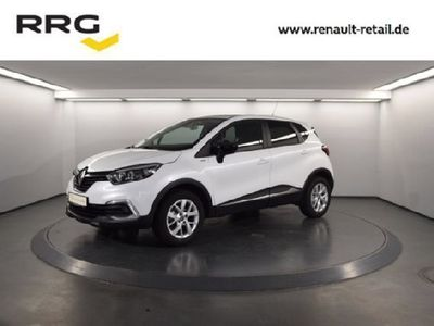 gebraucht Renault Captur LIMITED DELUXE TCe 90 KLIMA/NAVI/PDC