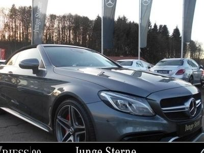 gebraucht Mercedes C63S AMG AMG Cabriolet Drivers P.+Comand