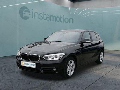 gebraucht BMW 118 118 d Sport Line HiFi Navi Klimaautomatik