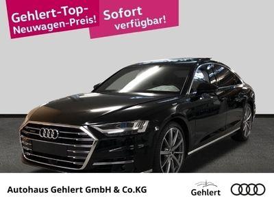 gebraucht Audi A8 50 TDI quattro Laserlicht Leder LED Navi Dyn. Kurvenlicht Massagesitze Klimasitze