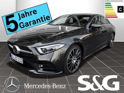 gebraucht Mercedes CLS450 4MATIC AMG-Line COMAND/LED/360°/Schiebed