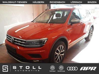 gebraucht VW Tiguan Allspace 2.0 TDI DSG Comfl. ActiveInfo+Navi+AHK+TrailerAssist+LED+HeadUp+++
