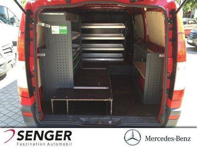 gebraucht Mercedes Vito 116 CDI KA Extralang AHK Regalsystem