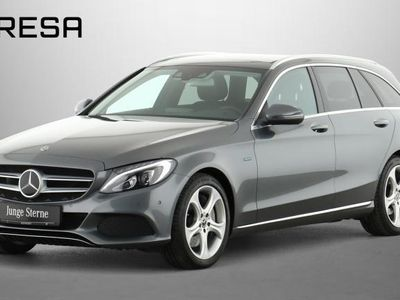 gebraucht Mercedes C350e T Comand Distronic Pano. LED