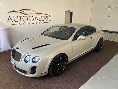 gebraucht Bentley Continental Supersport *Lückenlos Service*SandWhite