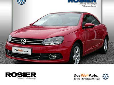 gebraucht VW Eos 1.4 TSI Navi Leder SHZ Klima Sportpaket