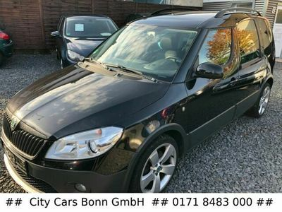 gebraucht Skoda Roomster Scout 1.6 TDI Klima/PDC/Pano/AHK/Tempo