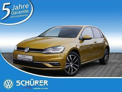 gebraucht VW Golf VII SOUND 1.6 TDI LED-SW Navi RüKamera ACC