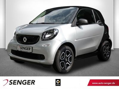 gebraucht Smart ForTwo Coupé 66kW passion Cool&Audio Sitzheizung Pano