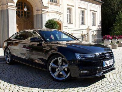 gebraucht Audi A5 Sportback 1.8 TFSI S line, Navi, Alc/Leder als Sportwagen/Coupé in Bad Reichenhall