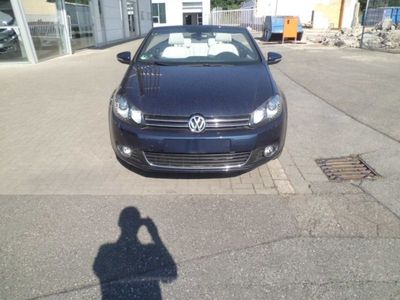 gebraucht VW Golf Cabriolet VI ParkPilot, Climatronic, Leder