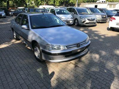 gebraucht Peugeot 406 Premium 1.8 Schiebedach/el.Fenster/1 Hd