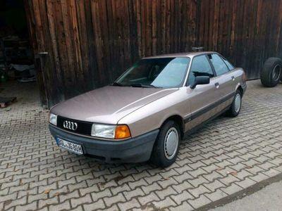 gebraucht Audi 90 A80 H-GUTACHTEN b3 1,8SPs Bj 1987