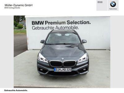 gebraucht BMW 218 Active Tourer d Sport Line Navi LED PDC Shz