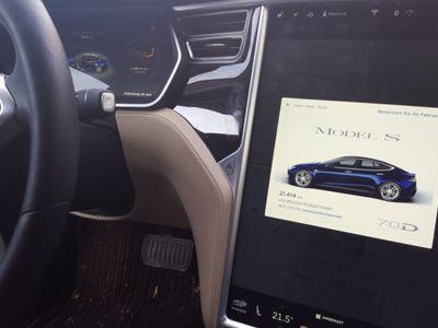 gebraucht Tesla Model S 70D Allradantrieb
