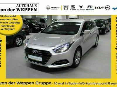 gebraucht Hyundai i40 Kombi blue 1.7 CRDi Trend Klima Klima Gebrauchtwagen, bei Autohaus von der Weppen GmbH & Co. KG