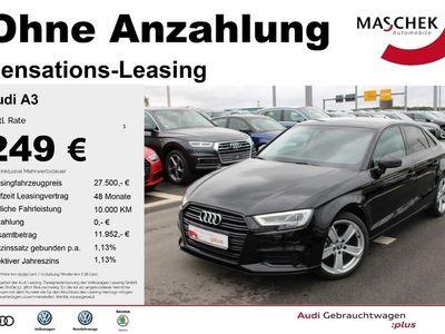 gebraucht Audi A3 Limousine Sport 2.0 TDI AHK LED virtualcpt GR M
