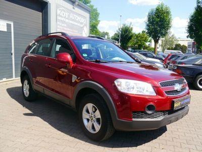 gebraucht Chevrolet Captiva 2.4 LS 2WD /2 Hand/TÜV neu/Klima/LPG/Top