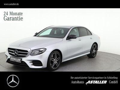 gebraucht Mercedes E200 AMG+Night+Wide+StHzg+Comand+Burmes+LED