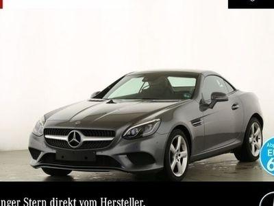 gebraucht Mercedes 200 SLCPano ILS Navi Airscarf Totwinkel DAB PTS