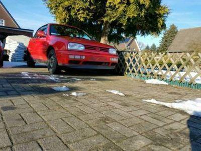 gebraucht VW Golf Cabriolet 3 rot