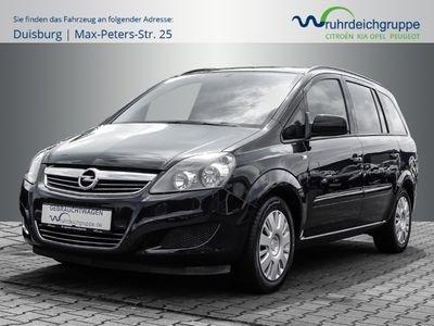 gebraucht Opel Zafira B Family 1.6 1.Hand+7-Sitzer+Klima+AHK+