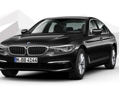 gebraucht BMW 520 5er d Aut. Leder Nav el.Heck el.Sitze Kam DAB