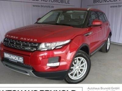 gebraucht Land Rover Range Rover evoque eD4 Pure Leder Sitzheizung