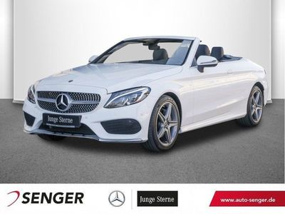 second-hand Mercedes C180 Cabriolet AMG Line Navi LED-ILS Airscarf