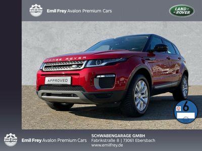 gebraucht Land Rover Range Rover evoque TD4 SE Navi+Leder+SHZ+PDC