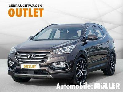 gebraucht Hyundai Santa Fe blue2.2CRDI|4WD|Aut|Premium|Navi|Leder|PanoDach|