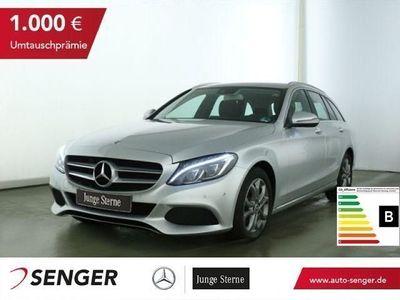 gebraucht Mercedes C200 T Avantgarde+LED+Navi+PDC