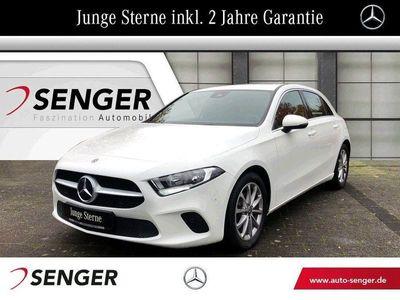 gebraucht Mercedes A180 Premium-Navigation+MBUX+Park-Assistent-SHZ