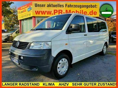 gebraucht VW Shuttle T52.5 TDI lang 8 SITZE KLIMA AHZV