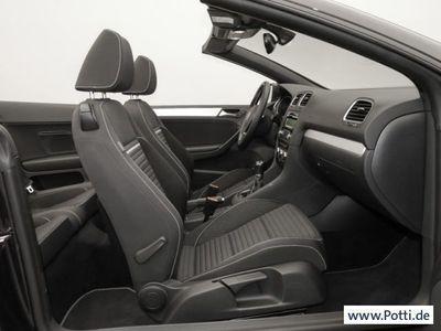 gebraucht VW Golf Cabriolet VI 1.6 TDI CUP 17 Zoll (Klima)