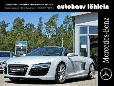 gebraucht Audi R8 Coupé Spider 5.2 FSI quattro KERAMIKBREMSE+B&O-SOUN