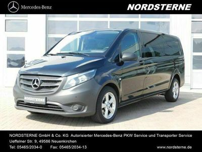 gebraucht Mercedes Vito 116 BT TOURER PRO EURO6 Navi Automatik AHK