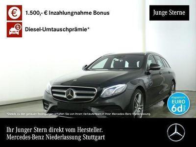 gebraucht Mercedes E400 d 4M AMG Fahrass 360° Stdhzg Multibeam