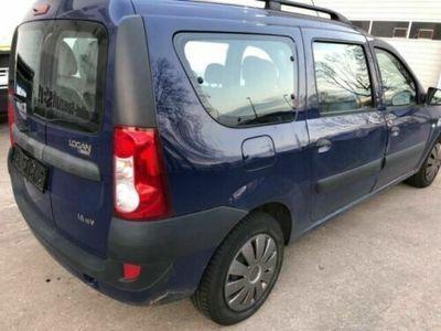 gebraucht Dacia Logan MCV 1.6 16V 7 Sitze Klima