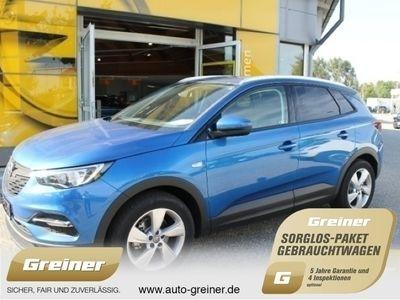 gebraucht Opel Grandland X 1.6 Edition SHZ|LRHZ|BLUETOOTH|PDC