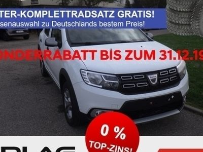 gebraucht Dacia Sandero Stepway Prestige TCe 90 eco Navi Klima Temp PDC RDC LED-Tagfahrlicht NR AUX