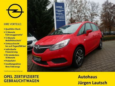 gebraucht Opel Zafira 1.6T Edition 5 Sitze/PDC/AGR/SH/Klima/S&S