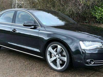 gebraucht Audi A8 3.0 TDI DPF QUATTRO LUFTFEDERUNG NAVI DVD LED als Limousine in Walluf