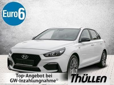 gebraucht Hyundai i30 5T 1.0 Turbo N-Line Teilleder Komfortpaket