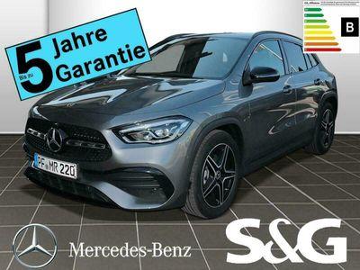 gebraucht Mercedes GLA200 AMG LED+19+MBUX+Night+RüKam.+Totwinkel+