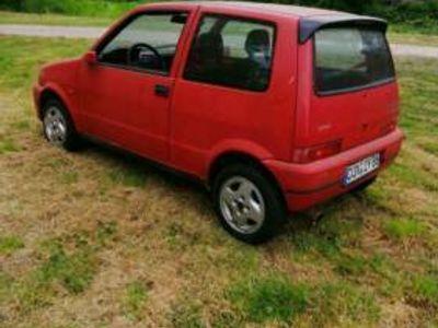 gebraucht Fiat Cinquecento sporting in rot