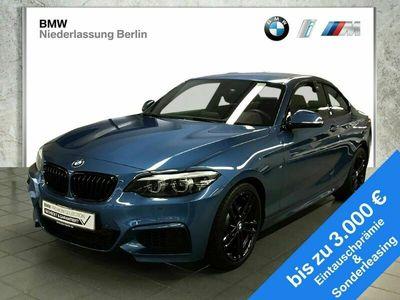 gebraucht BMW 218 i Coupé EU6d-Temp Aut. M Sport LED Navi